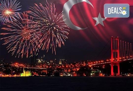 Нова година в хотел 5* в Истанбул: 3 нощувки и закуски, празнична вечеря, СПА