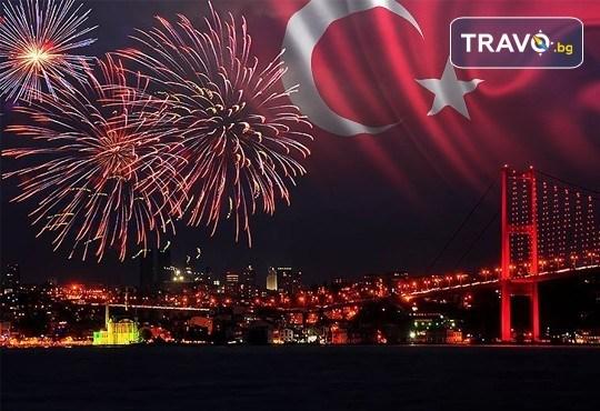 Ранни записвания за 5-звездна Нова година в Pullman Istanbul Hotel & Convention Center в Истанбул! 3 нощувки със закуски, Новогодишна вечеря и ползване на басейн и сауна, транспорт по избор - Снимка 1