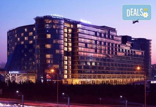 Ранни записвания за 5-звездна Нова година в Pullman Istanbul Hotel & Convention Center в Истанбул! 3 нощувки със закуски, Новогодишна вечеря и ползване на басейн и сауна, транспорт по избор - Снимка 2
