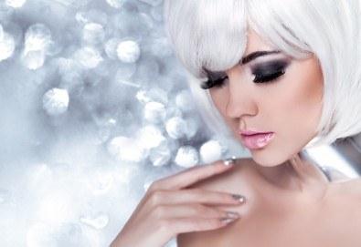 Поставяне на копринени мигли по метода косъм по косъм в New faces beauty studio! - Снимка