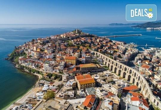 На разходка и шопинг за един ден през октомври до Кавала, Гърция! Транспорт и екскурзовод от туроператор Поход! - Снимка 1