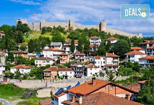Екскурзия през октомври до Охрид и Скопие: 1 нощувка и закуска, транспорт