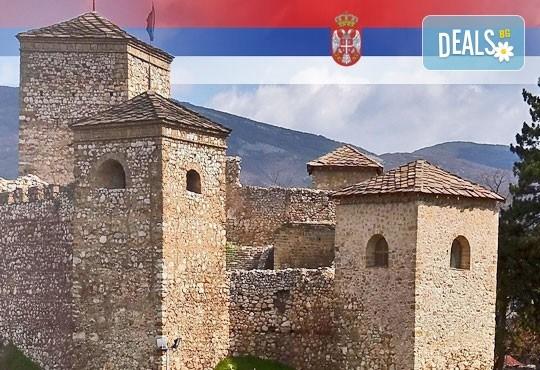 Еднодневна екскурзия до Пирот, Ниш и Нишка баня: транспорт и екскурзовод
