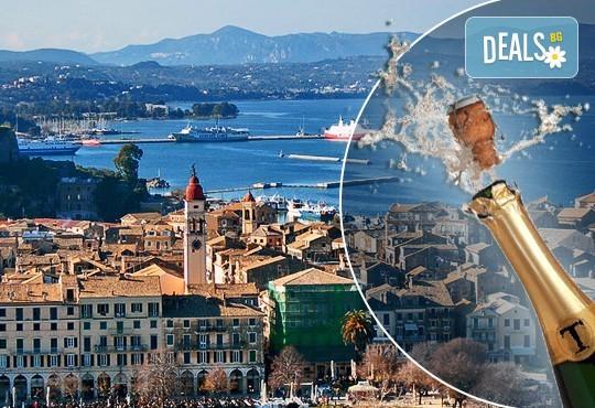 Посрещнете Нова година 2020 на о. Корфу, Гърция, с България Травъл! 3 нощувки със закуски и 2 вечери в Olympion village 3+*, транспорт и водач - Снимка 1