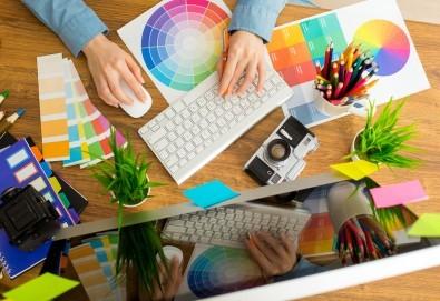Онлайн професионално обучение по графичен дизайн - 50 или 600 учебни часа и издаване на удостоверение за професионално обучение или сертификат - Снимка