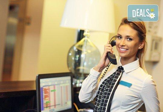 Онлайн професионално обучение по организация на хотелиерството - 50 или 600 учебни часа и издаване на удостоверение за професионално обучение или сертификат - Снимка 1
