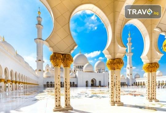 През есента до екзотичния Дубай! 4 нощувки със закуски и вечери в хотел 3* или 4*, самолетен билет, трансфери, сафари в пустинята, посещение на Абу Даби и круиз в Дубай Марина! - Снимка 12