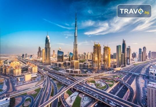 През есента до екзотичния Дубай! 4 нощувки със закуски и вечери в хотел 3* или 4*, самолетен билет, трансфери, сафари в пустинята, посещение на Абу Даби и круиз в Дубай Марина! - Снимка 9