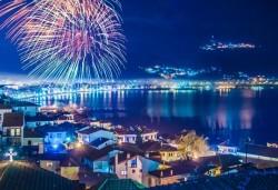 4-звездна Нова година в Охрид! 3 нощувки със закуски и 2 вечери в Hotel Belvedere, Новогодишна празнична вечеря и транспорт - Снимка