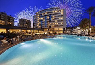 Нова Година 2020 в хотел Porto Bello Resort & Spa 5*, Анталия, с BELPREGO Travel! 4 нощувки на база All inclusive, възможност за транспорт - Снимка
