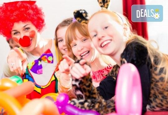 За празника на Вашето дете! Два часа детско парти за 8-15 деца с аниматор, меню и торта от Парти клуб Слънчо - Снимка 4