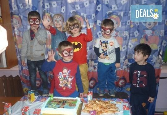 За празника на Вашето дете! Два часа детско парти за 8-15 деца с аниматор, меню и торта от Парти клуб Слънчо - Снимка 5
