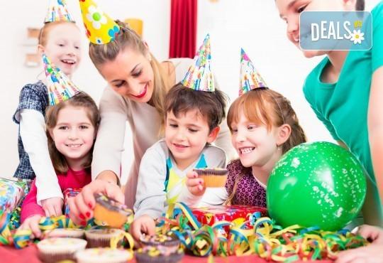 Наем за 1 час на детски клуб за рожден ден или друг празник, с музика, играчки и много забавления от Парти клуб Слънчо - Снимка 1