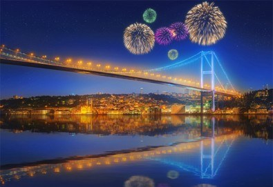 Луксозна Нова година в Истанбул, Турция! 3 нощувки със закуски в Holiday Inn Airport 5*, Новогодишна гала вечеря и транспорт - Снимка