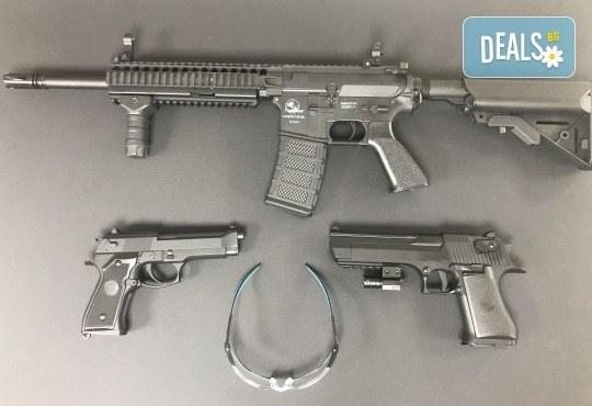 Стрелба с еърсофт боеприпаси, автомат или пистолет по избор и 3 вида мишени в Еърсофт стрелбище Xsoldier - Снимка 2