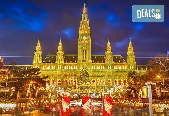Магични Виена и Будапеща преди Коледа! 3 нощувки със закуски в хотели 3*, транспорт и водач-екскурзовод от Комфорт Травел! - Снимка 1