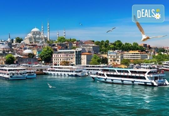 Приказна Нова година в Истанбул! 3 нощувки със закуски в хотел 2*/3*, Новогодишна гала вечеря на яхта по Босфора, транспорт и посещение на мол Forum - Снимка 4
