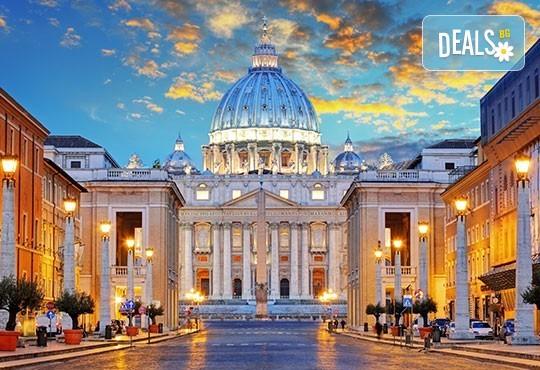 Екскурзия до Рим, Италия, дата по избор: 3 нощувки със закуски, самолетен билет, трансфер