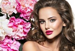 Бъдете очарователни с прическа в Blush Beauty! Подхранваща терапия масажно измиване и прическа: букли, къдрици, прав или начупен сешоар - Снимка