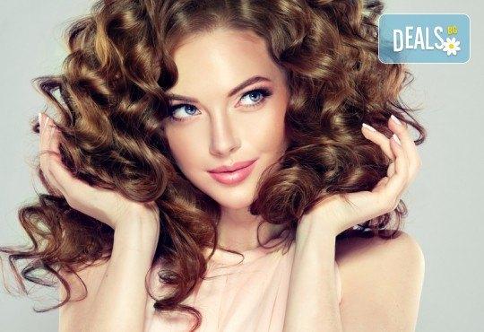Бъдете очарователни с прическа в Blush Beauty! Подхранваща терапия масажно измиване и прическа: букли, къдрици, прав или начупен сешоар - Снимка 3