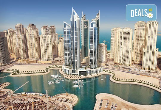 Дубай, декември: 7 нощувки, закуски в хотел 4*, самолетен билет, багаж, трансфери, водач