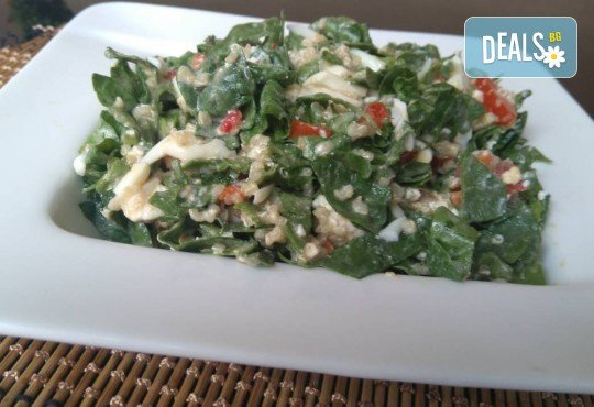 Хапнете вкусно и изгодно! Основно ястие и салата по избор от La Dolce Vita bar & dinner! - Снимка 4