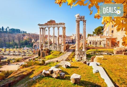 Самолетна екскурзия до Рим: 3 нощувки и закуски, билети, транфери и водач