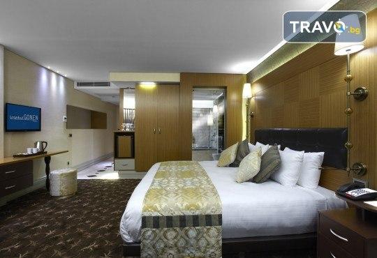 Лукс за Нова година в Hotel Istanbul Gonen 5*, Истанбул! 3 нощувки със закуски, транспорт, богата Новогодишна вечеря и посещение на Одрин - Снимка 2