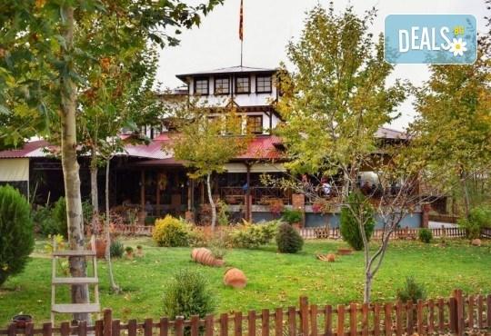 Уикенд в Етно село Тимчевски, Македония: 1 нощувка, закуска и вечеря, транспорт