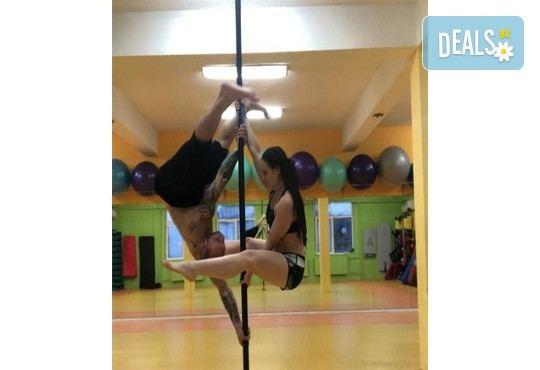 Забавлявайте се и бъдете във форма! 3 или 5 тренировки по Pole Dance в Pro Sport, Варна! - Снимка 7