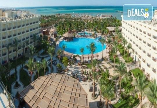 Почивка в Египет през есента! 7 нощувки на база All Inclusive в хотел Hawaii Le Jardain Aqua Park 5* в Хургада, самолетен билет с директен чартърен полет и трансфери - Снимка 5
