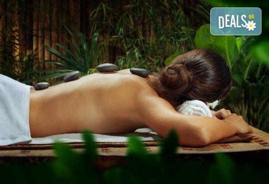 120-минути тибетски шелс микс - масаж с раковини на цяло тяло, Hot Stone терапия и вълнова терапия в център GreenHealth - Снимка 1