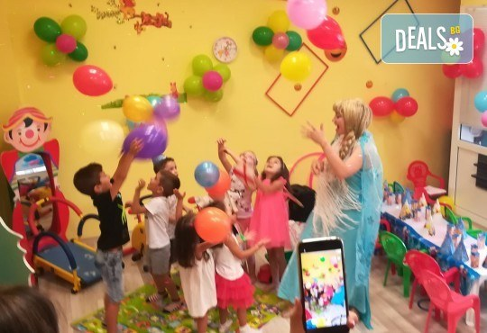Рожден ден! Наем на зала 2 часа за детско парти с украса, парти музика, зала за възрастни и топли напитки в Детски център Пух и Прасчо в широкия център на София - Снимка 13