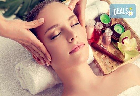 90-минутна грижа за лице, шия и деколте за хидратирана и ревитализирана кожа! Китайски масаж 36 движения и терапия с пилинг и маска по избор GreenHealth! - Снимка 2