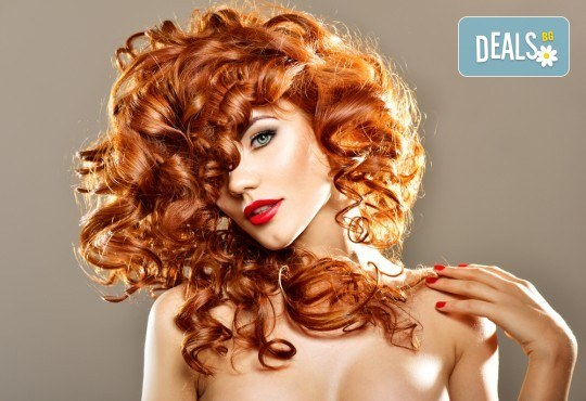 Боядисване с боя на клиента, подстригване, масажно измиване, кератинова терапия с продукти на Brave new hair и оформяне със сешоар в салон Феникс! - Снимка 2
