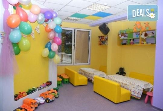 2 часа детски рожден ден за до 10 деца с включени меню, торта, аниматор, много музика и игри, пързалки, играчки, украса и фотозаснемане от Детски Парти Клуб Honey! - Снимка 4