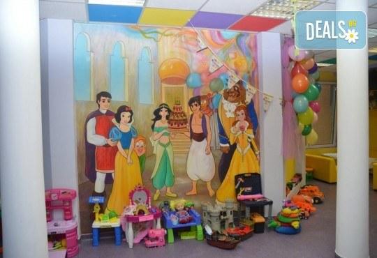 2 часа детски рожден ден за до 10 деца с включени меню, торта, аниматор, много музика и игри, пързалки, играчки, украса и фотозаснемане от Детски Парти Клуб Honey! - Снимка 7