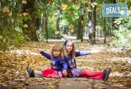 Едночасова детска или семейна фотосесия в студио или на открито и обработка на всички кадри от фотостудио Arsov Image! - Снимка 1