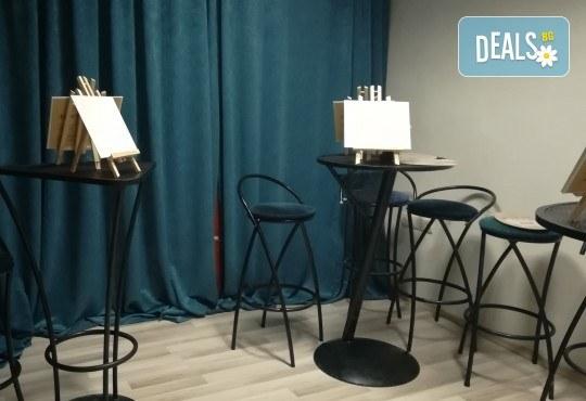 """""""Златна есен""""! 3 часа арт терапия на 27-ми октомври (неделя) - рисуване с акварел + чаша вино под инструкциите на професионален художник в Пух арт студио - Снимка 8"""