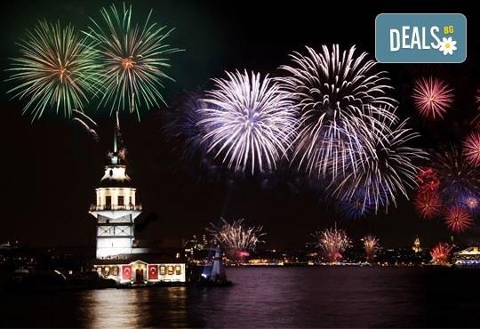 5-звездна Нова година в Golden Tulip Istanbul Bayrampasa в Истанбул! 3 нощувки със закуски, Новогодишна вечеря, транспорт и посещение на мол Forum - Снимка 1