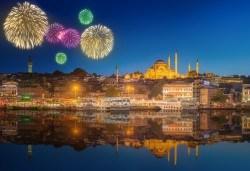 Посрещнете Нова година в Истанбул! 3 нощувки със закуски в Grand Ahi Hotel 3*, транспорт и бонуси: посещение на мол Forum и Одрин - Снимка