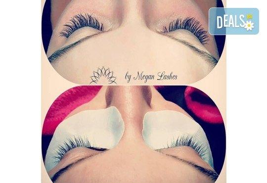 Удължаване и сгъстяване на мигли с метод по избор - косъм по косъм, 3D или 5D - руски обем, в Beauty Home by Megan Lashes! - Снимка 6