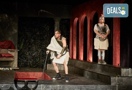 Герасим Георгиев - Геро е Ромул Велики на 11-ти ноември (понеделник) от 19ч. в Малък градски театър Зад канала! - Снимка 7
