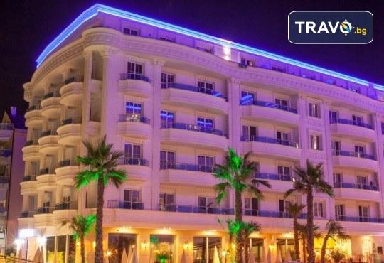 Посрещнете Нова година 2020 в хотел Grand Blue Fafa Resort 5*, Албания, с АБВ Травелс! 3 нощувки, 3 закуски и 2 вечери, транспорт и програма в Дуръс, Скопие и Охрид! - Снимка 2