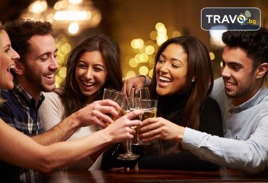 Посрещнете Нова година 2020 в хотел Grand Blue Fafa Resort 5*, Албания, с АБВ Травелс! 3 нощувки, 3 закуски и 2 вечери, транспорт и програма в Дуръс, Скопие и Охрид! - Снимка 1