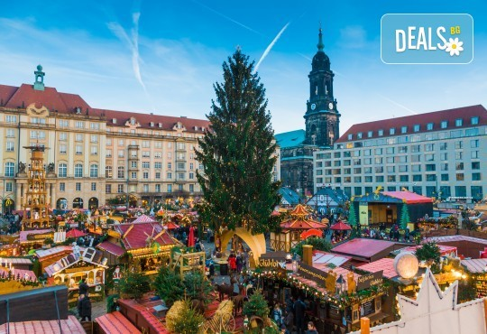 Коледни базари в Дрезден и Прага - екскурзия с ТА Солвекс! Самолетен билет, летищни такси, трансфер, 5 нощувки със закуски, пешеходни обиколки - Снимка 1