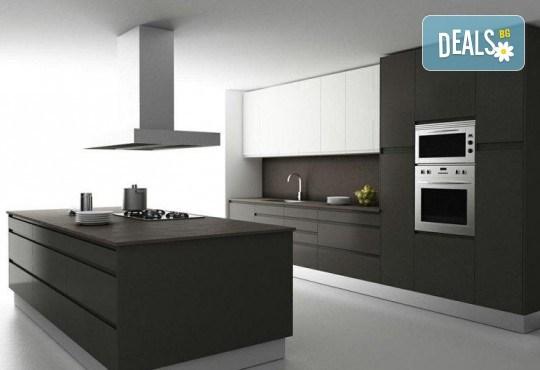 Специализиран 3D проект за дизайн на мебели + бонус: 15% отстъпка за изработка на мебелите от производител, от магазин за бутикови мебели Christo Design LTD - Снимка 1