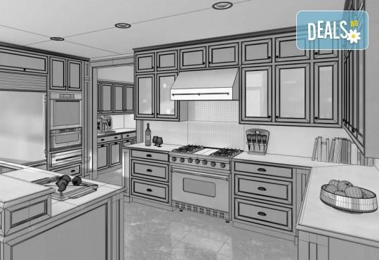 Специализиран 3D проект за дизайн на мебели + бонус: 15% отстъпка за изработка на мебелите от производител, от магазин за бутикови мебели Christo Design LTD - Снимка 8