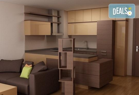 Специализиран 3D проект за дизайн на мебели + бонус: 15% отстъпка за изработка на мебелите от производител, от магазин за бутикови мебели Christo Design LTD - Снимка 10
