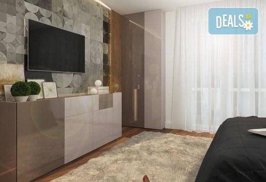 Специализиран 3D проект за дизайн на мебели + бонус: 15% отстъпка за изработка на мебелите от производител, от магазин за бутикови мебели Christo Design LTD - Снимка 13